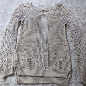 Olive & Oak Loose Knit Sweater Small